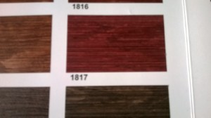 exterior wood stain color